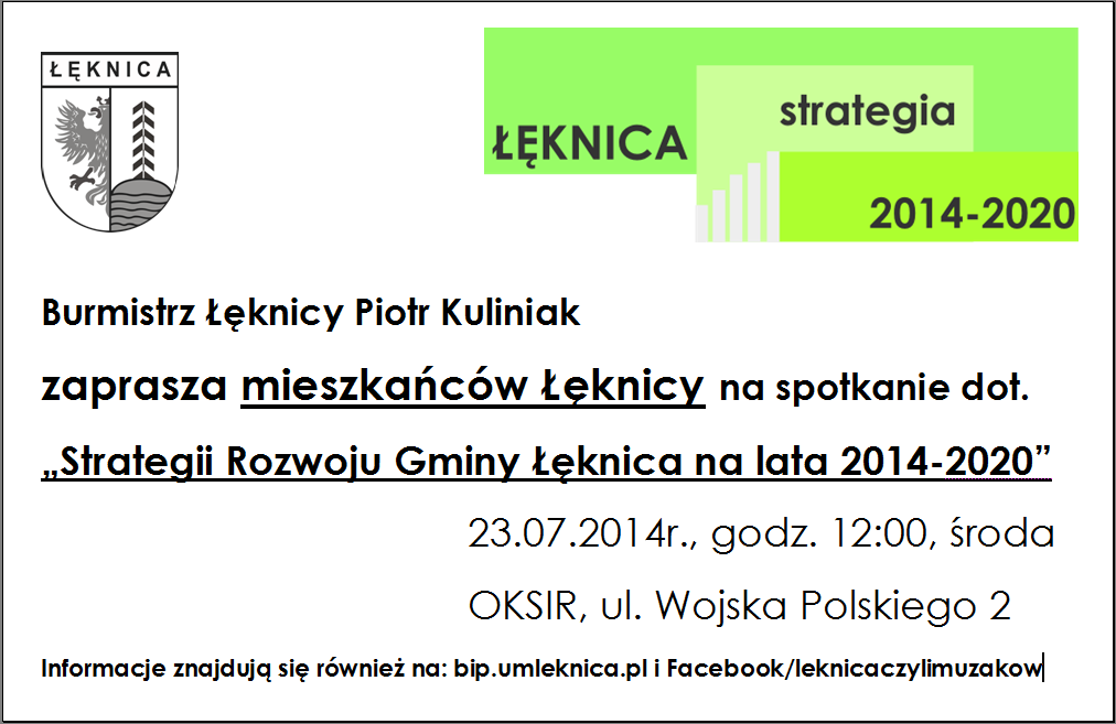 Spotkanie dot. Strategii Rozwoju Gminy Łęknica na lata 2014-2020