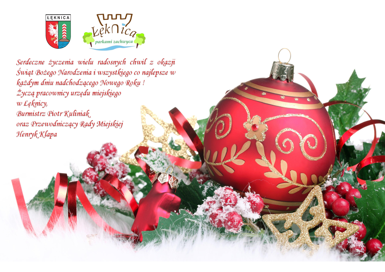 Wesołych Świąt Bożego Narodzenia - życzenia świąteczne plakat
