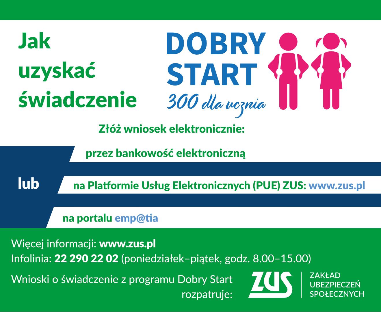 """""""Dobry Start"""" z ZUS"""